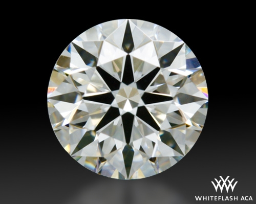 0.408 ct H VS1 A CUT ABOVE® Hearts and Arrows Super Ideal Round Cut Loose Diamond