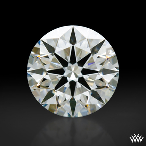 0.435 ct I VVS1 A CUT ABOVE® Hearts and Arrows Super Ideal Round Cut Loose Diamond