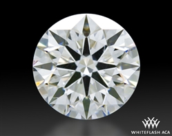 0.764 ct D VS2 A CUT ABOVE® Hearts and Arrows Super Ideal Round Cut Loose Diamond