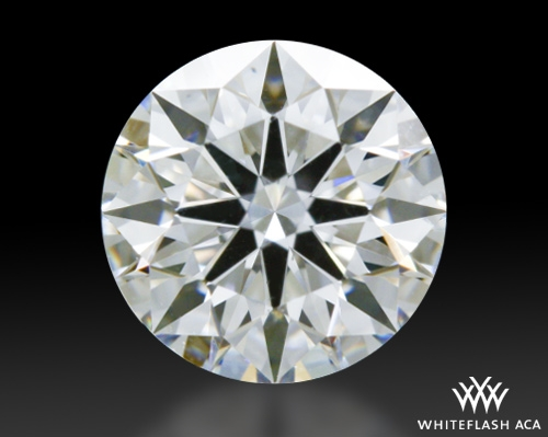 0.723 ct D VS2 A CUT ABOVE® Hearts and Arrows Super Ideal Round Cut Loose Diamond