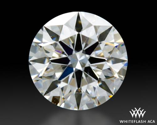 0.431 ct F VS2 A CUT ABOVE® Hearts and Arrows Super Ideal Round Cut Loose Diamond