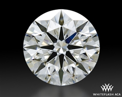 0.443 ct D SI1 A CUT ABOVE® Hearts and Arrows Super Ideal Round Cut Loose Diamond