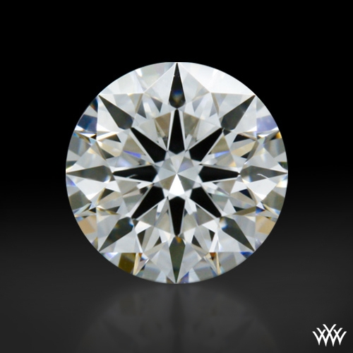 0.404 ct F VS1 A CUT ABOVE® Hearts and Arrows Super Ideal Round Cut Loose Diamond
