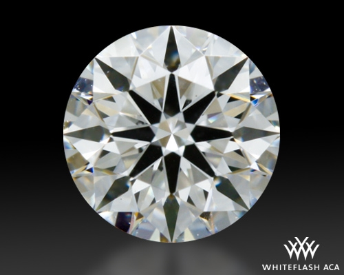 0.404 ct F VS2 A CUT ABOVE® Hearts and Arrows Super Ideal Round Cut Loose Diamond