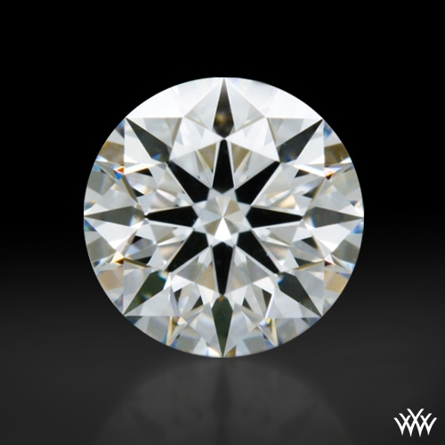 0.418 ct F VS1 A CUT ABOVE® Hearts and Arrows Super Ideal Round Cut Loose Diamond