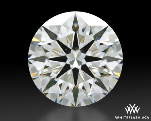 1.276 ct I VS2 A CUT ABOVE® Hearts and Arrows Super Ideal Round Cut Loose Diamond