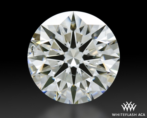 1.273 ct H SI2 A CUT ABOVE® Hearts and Arrows Super Ideal Round Cut Loose Diamond