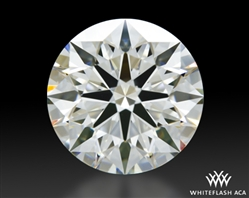 1.214 ct I VVS2 A CUT ABOVE® Hearts and Arrows Super Ideal Round Cut Loose Diamond