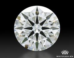 0.713 ct E VS2 A CUT ABOVE® Hearts and Arrows Super Ideal Round Cut Loose Diamond