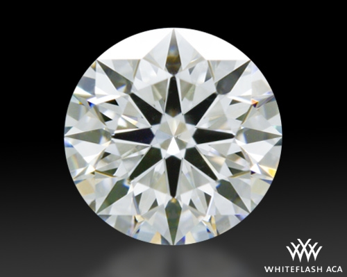 0.743 ct E VS2 A CUT ABOVE® Hearts and Arrows Super Ideal Round Cut Loose Diamond