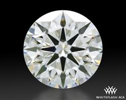 0.743 ct E VS2 A CUT ABOVE® Hearts and Arrows Super Ideal Round Cut Loose Diamond