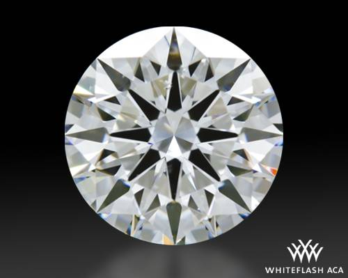 1.207 ct D SI1 A CUT ABOVE® Hearts and Arrows Super Ideal Round Cut Loose Diamond