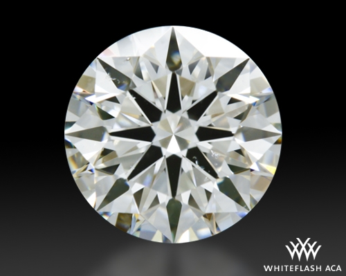1.016 ct I SI1 A CUT ABOVE® Hearts and Arrows Super Ideal Round Cut Loose Diamond