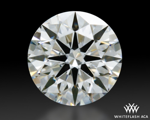 0.332 ct G VS1 A CUT ABOVE® Hearts and Arrows Super Ideal Round Cut Loose Diamond