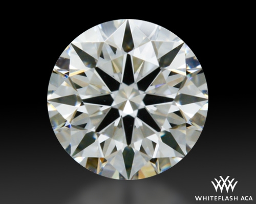 0.325 ct H VS1 A CUT ABOVE® Hearts and Arrows Super Ideal Round Cut Loose Diamond