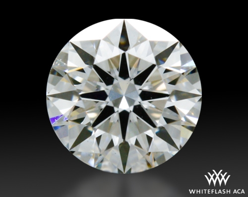 0.312 ct H VS1 A CUT ABOVE® Hearts and Arrows Super Ideal Round Cut Loose Diamond