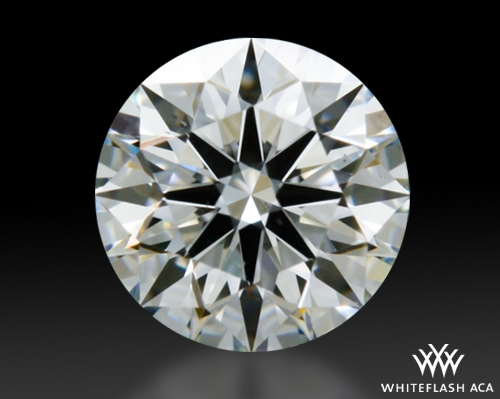 0.34 ct H VS2 A CUT ABOVE® Hearts and Arrows Super Ideal Round Cut Loose Diamond