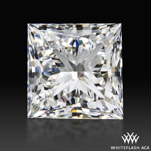 1.13 ct E VS2 A CUT ABOVE® Princess Super Ideal Cut Diamond