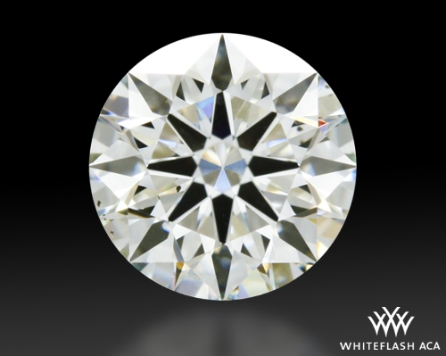 0.923 ct J SI1 A CUT ABOVE® Hearts and Arrows Super Ideal Round Cut Loose Diamond