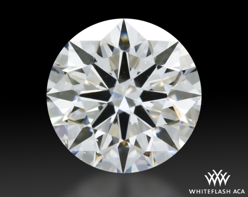 0.902 ct G SI1 A CUT ABOVE® Hearts and Arrows Super Ideal Round Cut Loose Diamond