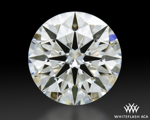 0.54 ct H VS2 A CUT ABOVE® Hearts and Arrows Super Ideal Round Cut Loose Diamond