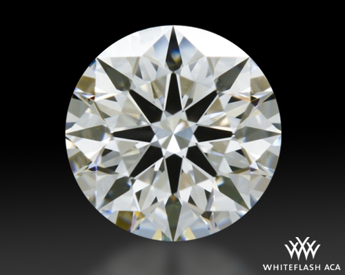 0.514 ct G VS2 A CUT ABOVE® Hearts and Arrows Super Ideal Round Cut Loose Diamond
