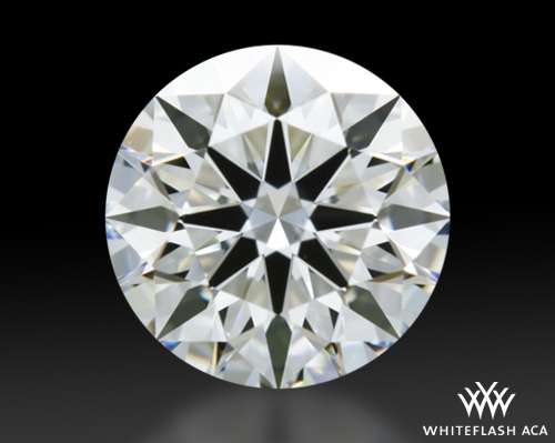 0.526 ct G VS2 A CUT ABOVE® Hearts and Arrows Super Ideal Round Cut Loose Diamond