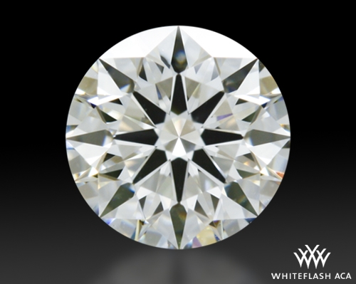 0.627 ct I VS1 A CUT ABOVE® Hearts and Arrows Super Ideal Round Cut Loose Diamond