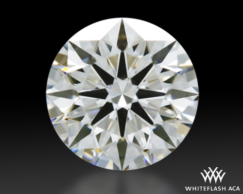0.63 ct H VS1 A CUT ABOVE® Hearts and Arrows Super Ideal Round Cut Loose Diamond