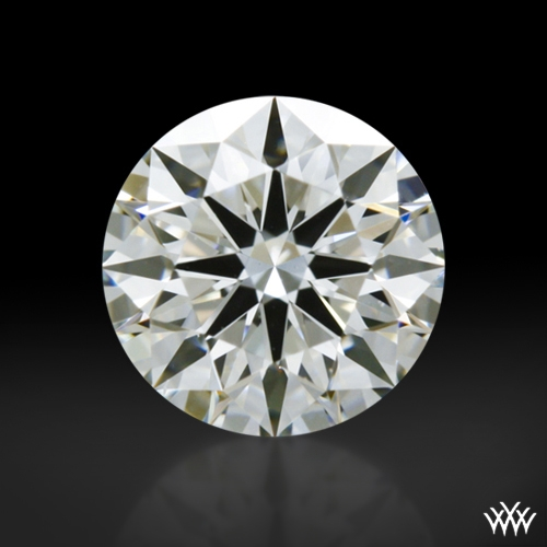0.522 ct G VS1 A CUT ABOVE® Hearts and Arrows Super Ideal Round Cut Loose Diamond