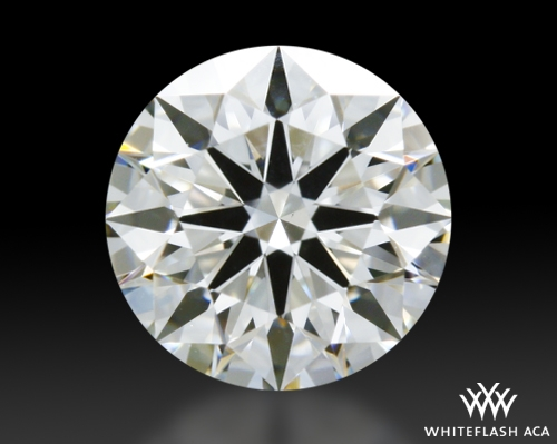 0.638 ct H VS1 A CUT ABOVE® Hearts and Arrows Super Ideal Round Cut Loose Diamond