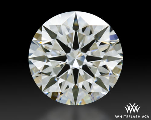 0.527 ct H VS2 A CUT ABOVE® Hearts and Arrows Super Ideal Round Cut Loose Diamond