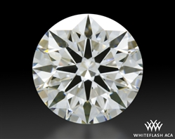 0.615 ct H VS1 A CUT ABOVE® Hearts and Arrows Super Ideal Round Cut Loose Diamond