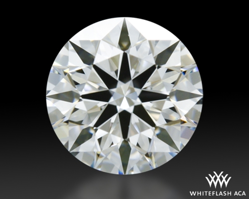 0.586 ct G VS2 A CUT ABOVE® Hearts and Arrows Super Ideal Round Cut Loose Diamond