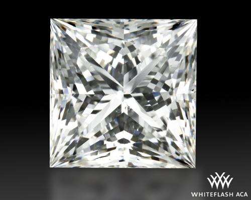 0.717 ct H VS2 A CUT ABOVE® Princess Super Ideal Cut Diamond