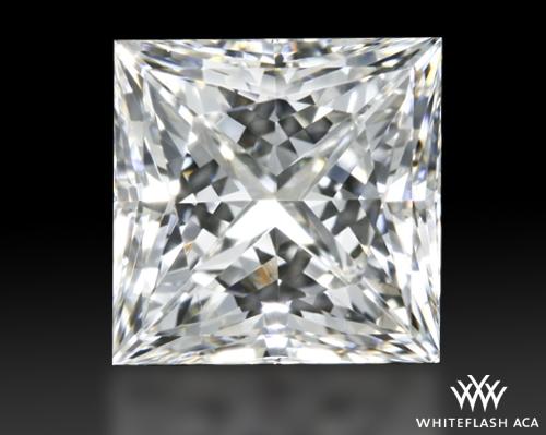 0.777 ct G VS2 A CUT ABOVE® Princess Super Ideal Cut Diamond