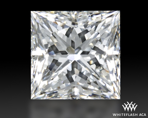 0.862 ct H VS2 A CUT ABOVE® Princess Super Ideal Cut Diamond