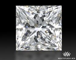 0.862 ct H VS2 A CUT ABOVE® Princess Super Ideal Cut Diamond