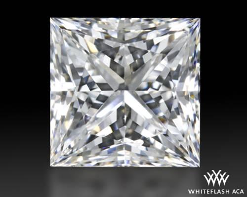 1.01 ct G SI1 A CUT ABOVE® Princess Super Ideal Cut Diamond