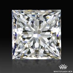 0.747 ct F VS2 A CUT ABOVE® Princess Super Ideal Cut Diamond
