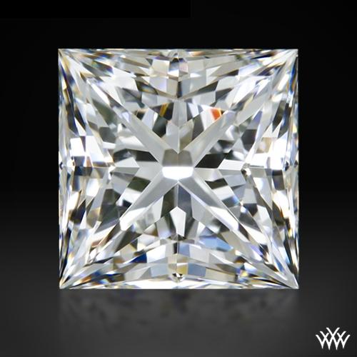 0.704 ct F VS1 A CUT ABOVE® Princess Super Ideal Cut Diamond
