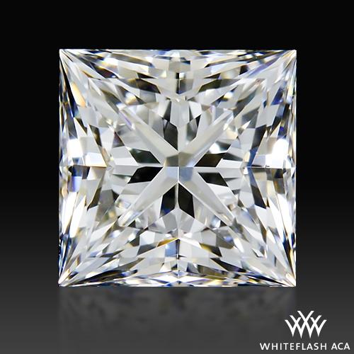 0.713 ct E VS1 A CUT ABOVE® Princess Super Ideal Cut Diamond