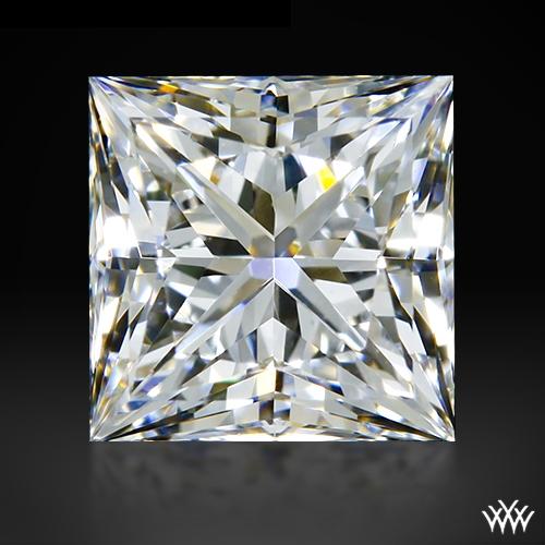 0.712 ct E VS2 A CUT ABOVE® Princess Super Ideal Cut Diamond