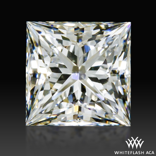0.592 ct H VS1 A CUT ABOVE® Princess Super Ideal Cut Diamond