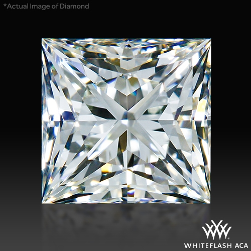 0.977 ct J VS2 A CUT ABOVE® Princess Super Ideal Cut Diamond