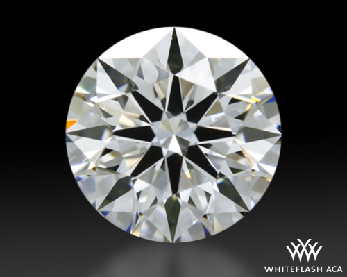 0.541 ct D VS2 A CUT ABOVE® Hearts and Arrows Super Ideal Round Cut Loose Diamond