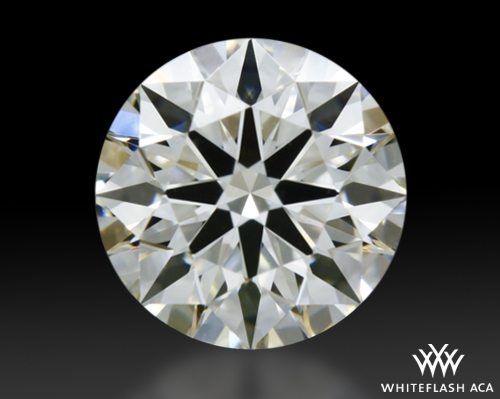 0.545 ct H VS2 A CUT ABOVE® Hearts and Arrows Super Ideal Round Cut Loose Diamond