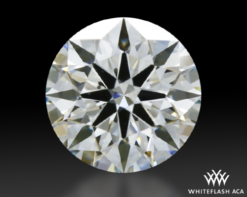 0.538 ct G VS1 A CUT ABOVE® Hearts and Arrows Super Ideal Round Cut Loose Diamond
