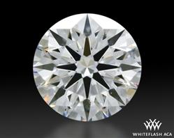 0.637 ct E VS2 A CUT ABOVE® Hearts and Arrows Super Ideal Round Cut Loose Diamond