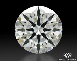 0.304 ct H VS1 A CUT ABOVE® Hearts and Arrows Super Ideal Round Cut Loose Diamond